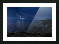 Stormynight Picture Frame print