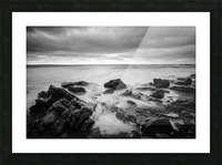 Rocky shore Picture Frame print