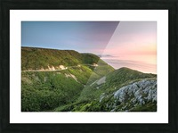Skyline Sunset Picture Frame print
