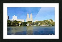 NY_CENTRAL PARK_View 047 Picture Frame print