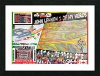 ECO ARTIST TOMMY BOYDART 4 LIFE ART WORK SPONSORS 1 Picture Frame print