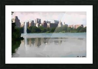 NY_CENTRAL PARK_View 061 Picture Frame print