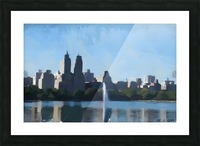 NY_CENTRAL PARK_View 070 Picture Frame print
