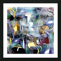 Illusion of Existence Picture Frame print