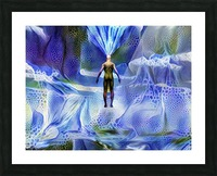 Power of Mind Picture Frame print