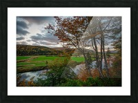Serene Valley Picture Frame print