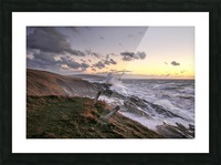 Furious Ocean Picture Frame print