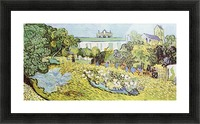 The garden of the Daubignys by Van Gogh Picture Frame print
