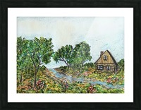Across The Creek Picture Frame print
