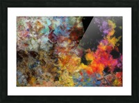 Flame Picture Frame print