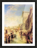 The grand canal in Venice by Joseph Mallord Turner Picture Frame print