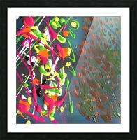 CELEBRATE Picture Frame print