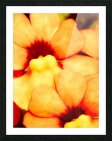 Yellow Mello Picture Frame print