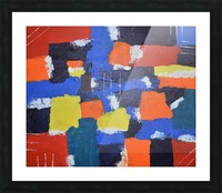 Abstract Painitng Picture Frame print