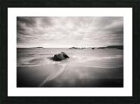 Peaceful Shore Impression et Cadre photo