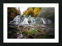 Autumn at Egypt Falls Picture Frame print