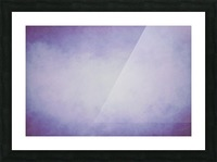 Lilac Mist Picture Frame print