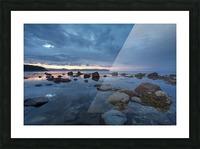 Mountain Range Picture Frame print