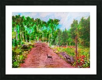 Old Road to Cochoran  Picture Frame print