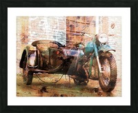 The Backroads of My Mind Picture Frame print
