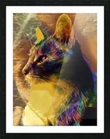 Cat Spirit Guide Picture Frame print