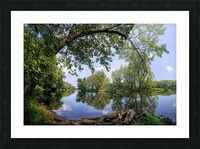 Calming Waters Picture Frame print