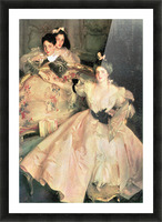 Mrs. Carl Meyer and Her Children by John Singer Sargent Picture Frame print