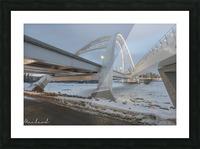 Walterdale_Bridge_NIK9885 Picture Frame print