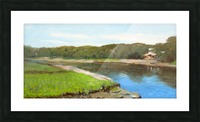 Swimming Hole Picture Frame print