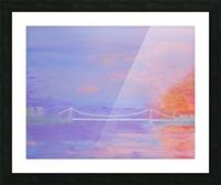 George Washington Bridge Sunrise Picture Frame print