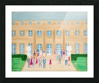 Champagne Anyone Picture Frame print