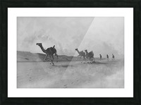 oman and traditional  Picture Frame print