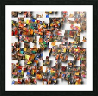 Playground Picture Frame print