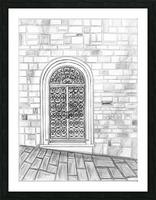 Porta Picture Frame print