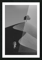 The Omani Desert Picture Frame print