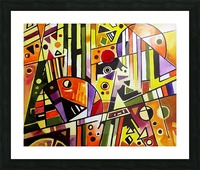Absolute Abstracts 18 Picture Frame print