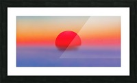 Pilots Sunrise Picture Frame print