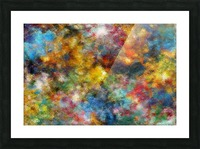 Clouds and Lights Picture Frame print