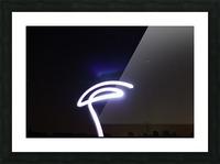 Lasso Picture Frame print