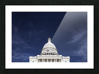 United States Congress Picture Frame print