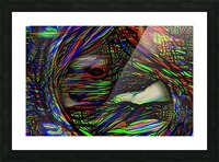 Abstract Face Picture Frame print