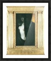 The sin by Franz von Stuck Picture Frame print
