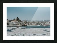 Vieux-Québec en hiver Impression et Cadre photo