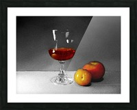 Wine and Fruits Picture Frame print