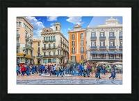 Plaza de la Boqueria Edit Picture Frame print