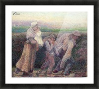 Toorop Na de werkstaking anagoria Picture Frame print