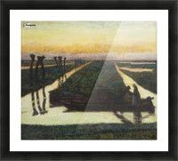 Toorop-broek Picture Frame print
