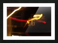 Speeding Stop Picture Frame print