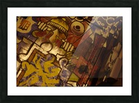 Local Graffiti Picture Frame print