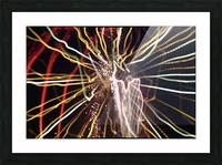 Streamers Picture Frame print